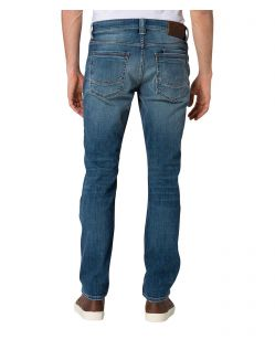 CROSS Jeans Dylan - Straight Leg - Blue Wash - Hinten