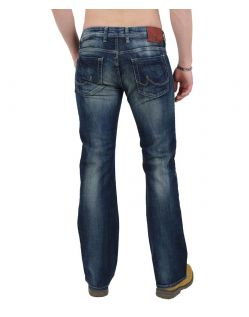 LTB Tinman Jeans Dark Blue Used Wash - Hinten