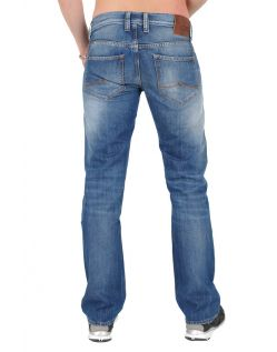 MUSTANG OREGON STRAIGHT Jeans - Slim Fit -  Light Scratched Used h