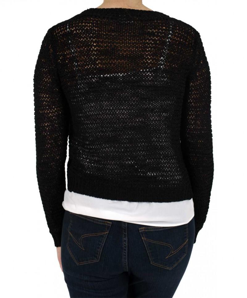 Vero Moda - VERLA CARDIGAN Strickjacke - Black