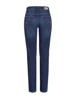 MAC Melanie Jeans - Straight Leg - New Basic Wash hinten