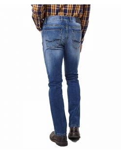 Pioneer Rando - Regular Fit Jeans in hellem Stonewash - Hinten