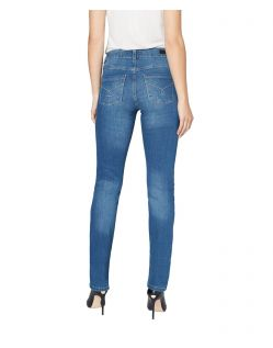 Colorado Denim Layla - hellblaue High Waisted Jeans - Hinten