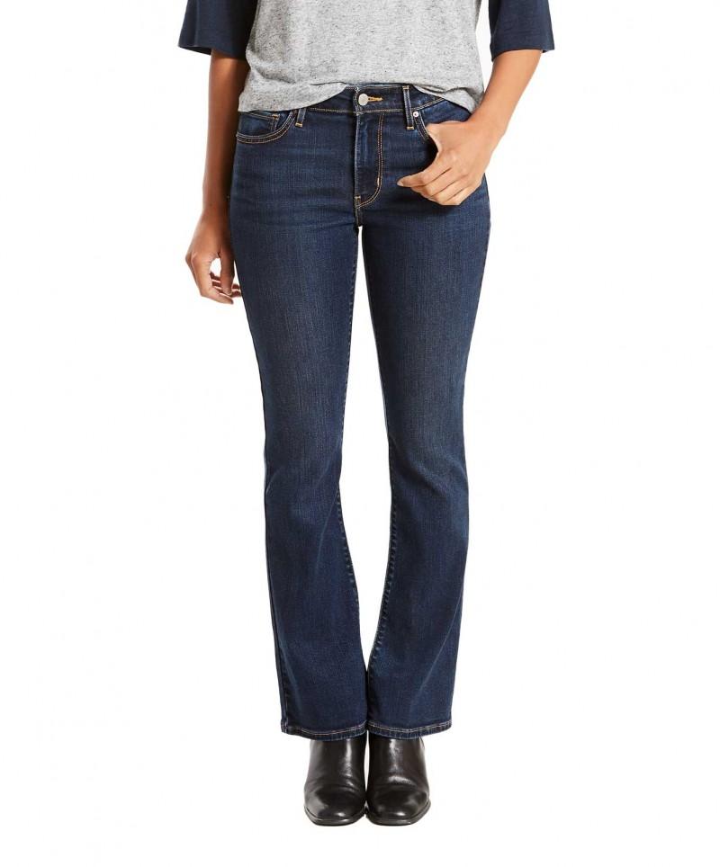 LEVI'S 715 Bootcut Jeans - Slim Fit - Black Sheep