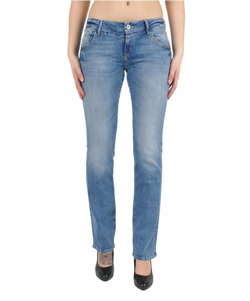 MAVI OLIVIA Jeans Straight Leg Lt Lunge