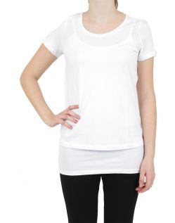Vero Moda T-Shirt - Molly ss Top - Bright White v