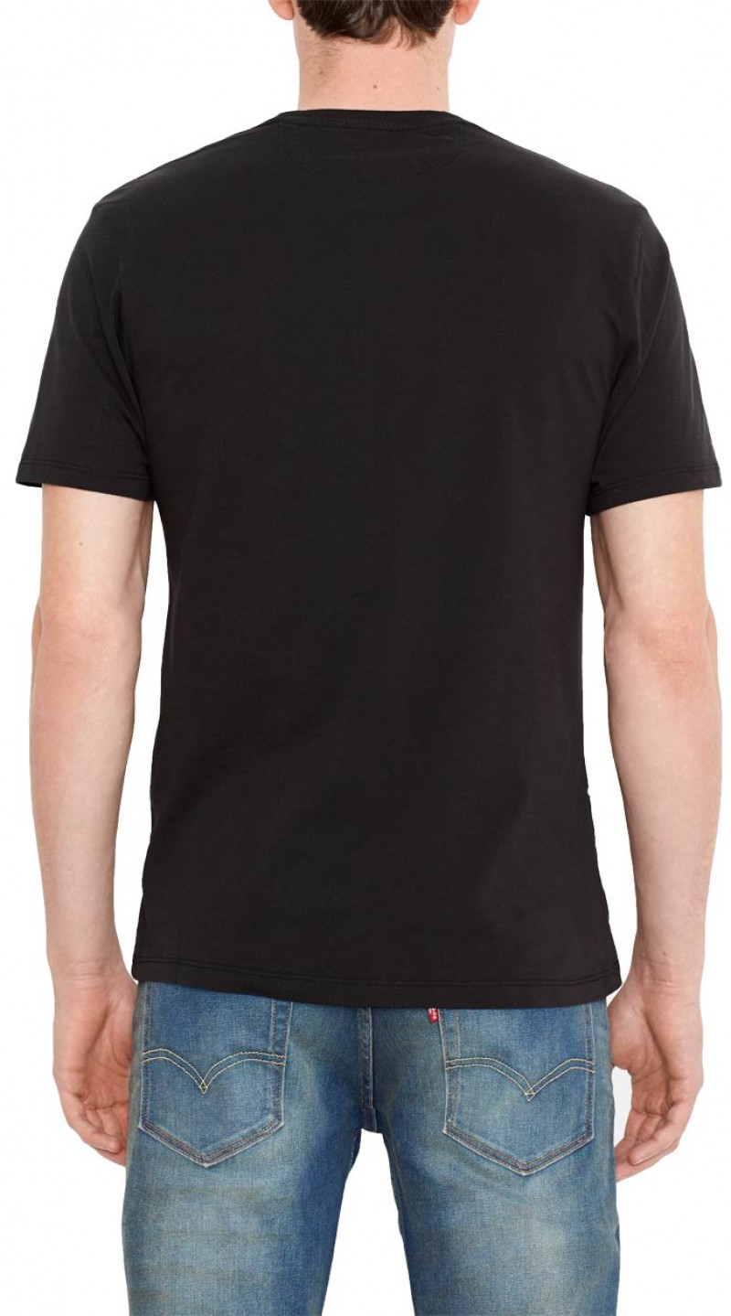 Levis T-Shirt - Graphic Crew - Black