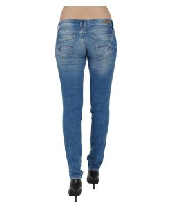 MAVI LINDY - Skinny Jeans - True Blue Barcelona - Hinten