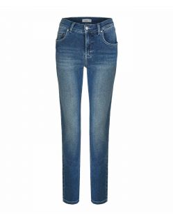 Angels Cici - Moderne Straight Jeans mit Used Look
