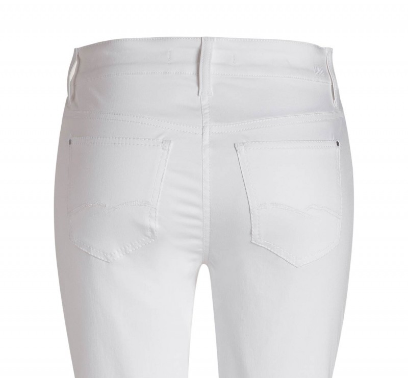 Mac Angela Hose - Summer Cotton - White