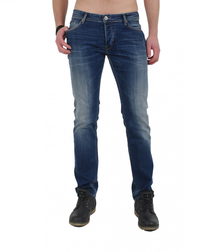 GARCIA TITO Jeans - Slim Leg - Blue Hvy Worn