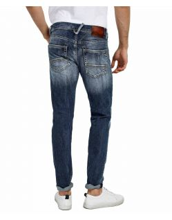 LTB SERVANDO X - Tapered Leg Jeans - Erwin Wash - Hinten