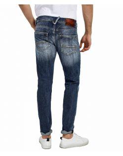 LTB SERVANDO X - Tapered Leg Jeans - Erwin Wash - Hinten