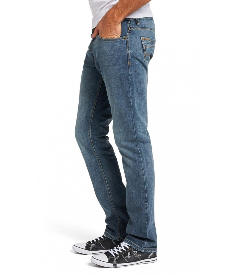 HIS STANTON Jeans Straight Leg Blizzard Blue