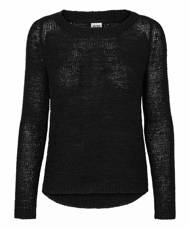 VERO MODA CHARITY - Strickpullover - Black