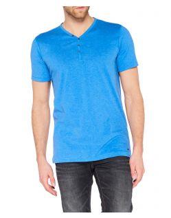 Colorado Wassily - V-Neck T-Shirt - Strong Blue Mel