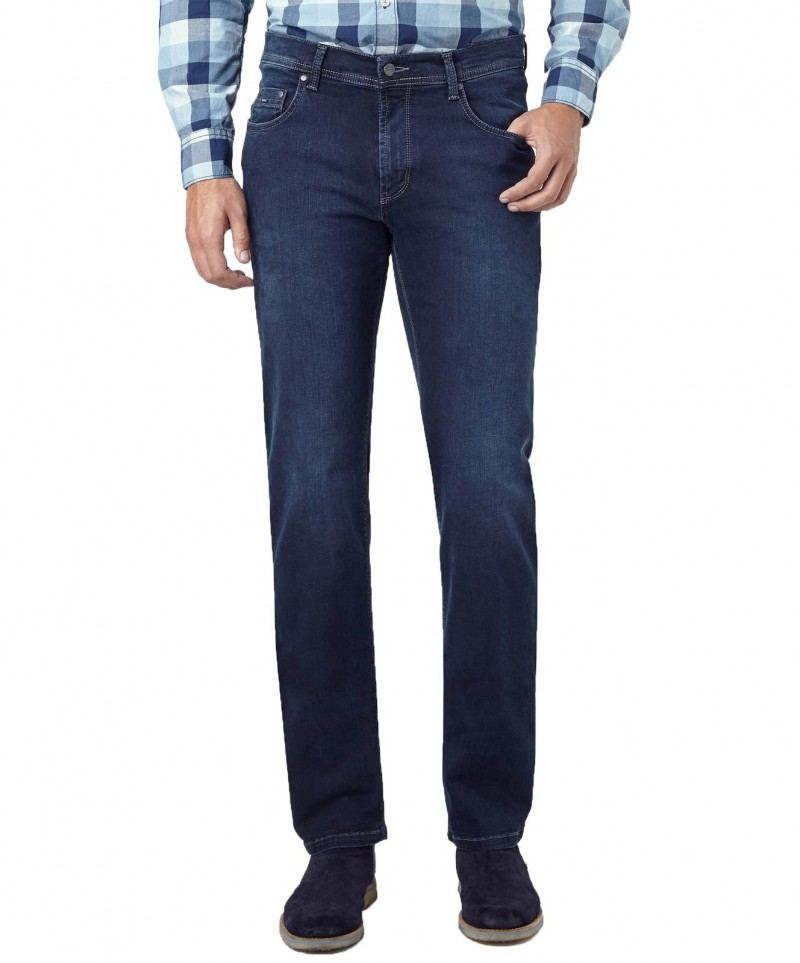 Pioneer Jeans Rando - Regular Fit - Megaflex Stretch - Dark Used