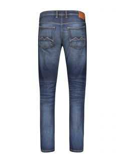 MAC ARNE Jeans - Modern Fit - Dark Vintage Blue - Hinten