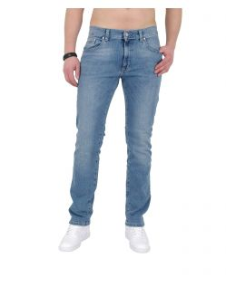 PIONEER RANDO Jeans - Light Stone Used with Buffies 182c