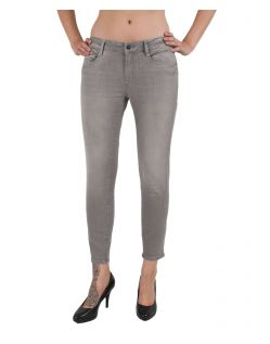 MAVI Jeans ADRIANA ANKLE - Super Skinny - Grey Stretch