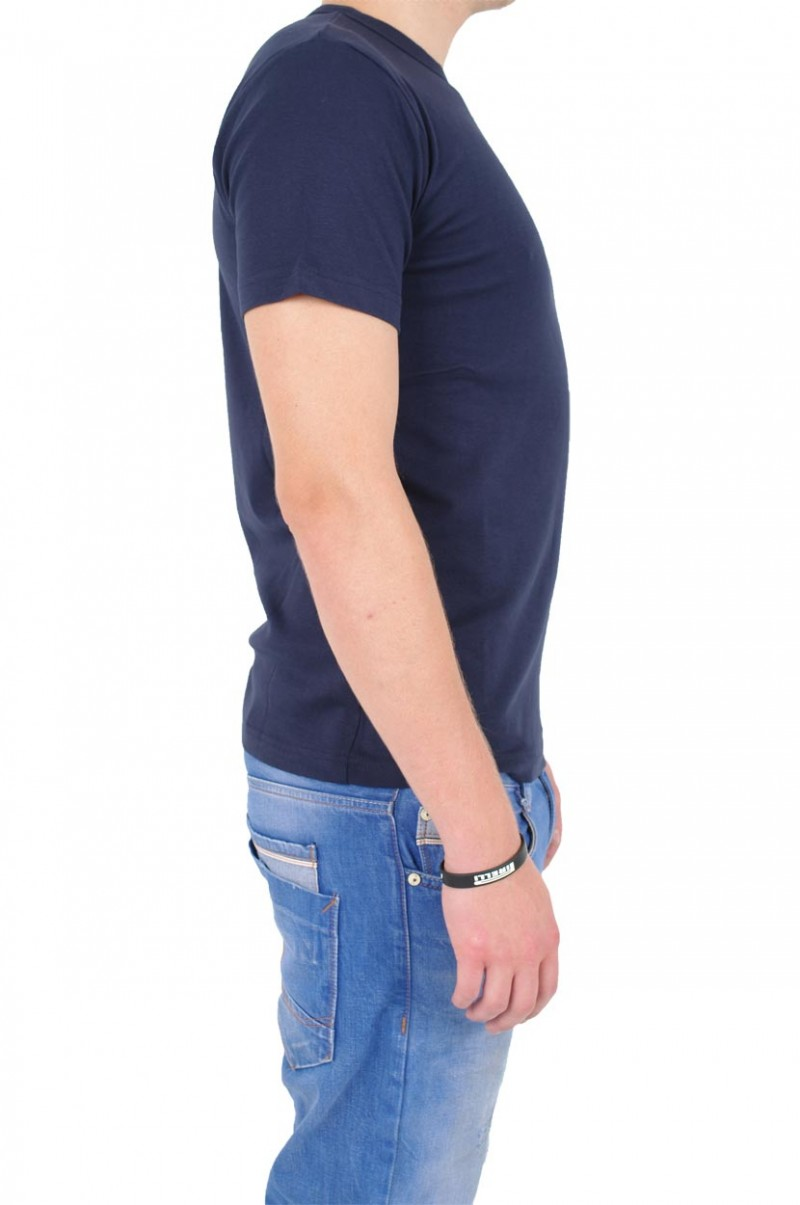 Gin Tonic Basic T-Shirt - Tight Fit - Navy v