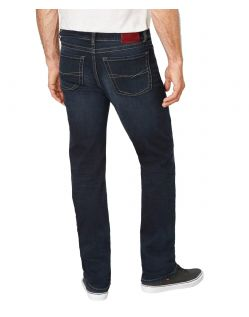 Paddocks Carter Jeans - Blue Black Used Moustache Wash - Hinten