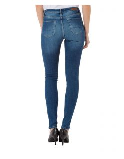 CROSS Jeans ALAN - Slightly Skinny - Medium Blue - Hinten