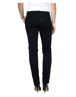 Levis Demi Curve - Straight Jeans - Pitch Black - Hinten