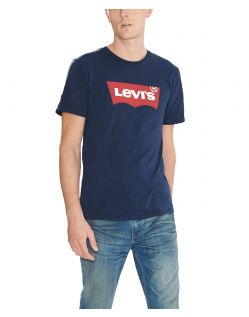 LEVI'S T-Shirt - Batwing Tee - Dress Blues