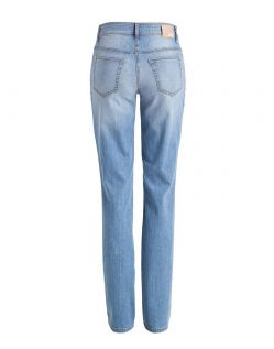 Mac Melanie Jeans - Straight Leg - Light Sommer Wash - Hinten
