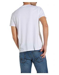 Wrangler Herren kurzärmlige T-Shirts im Zweierpack - f02