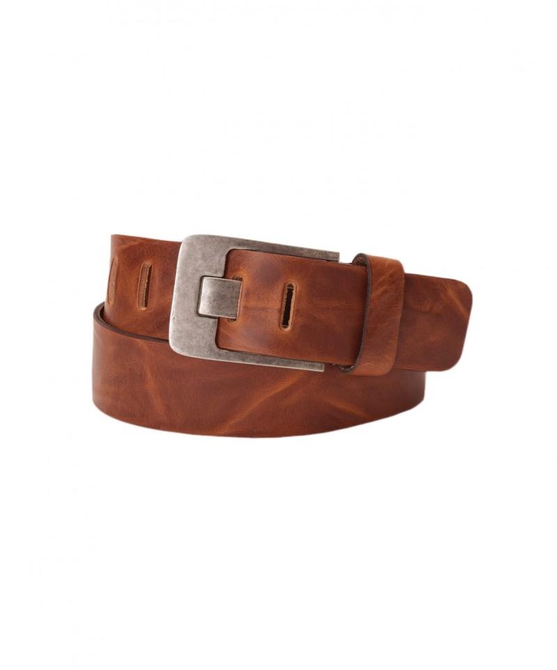 S NEU Damen // Herren MUSTANG Jeansgürtel Ledergürtel BUCKLE Belt Leather Gr