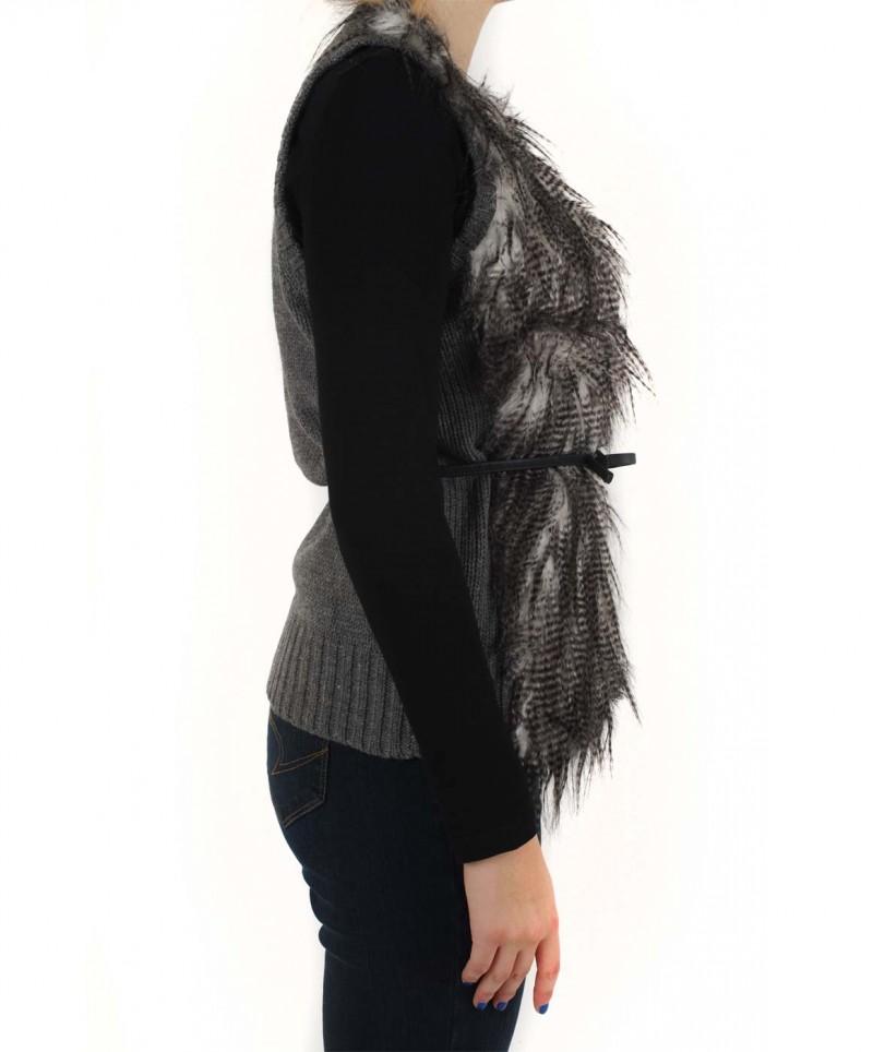 Vero Moda - AKIRA WAISTCOAT - Grey Melange