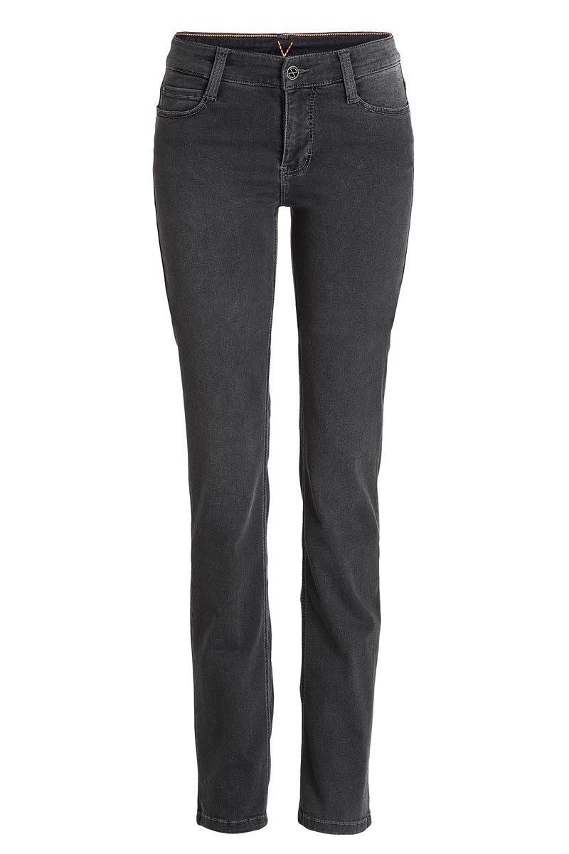 MAC DREAM Jeans Straight Leg Grey Stone Wash