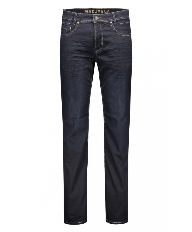 MAC Arne Jeans - superleichter Denim - Dark Blue od Black