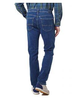Pioneer Rando Megaflex - Hinten - Gerade Stretch Jeans in Stonewash