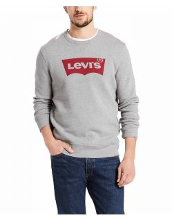 Levis Sweatshirt  - Graphic Crew - Medium Grey
