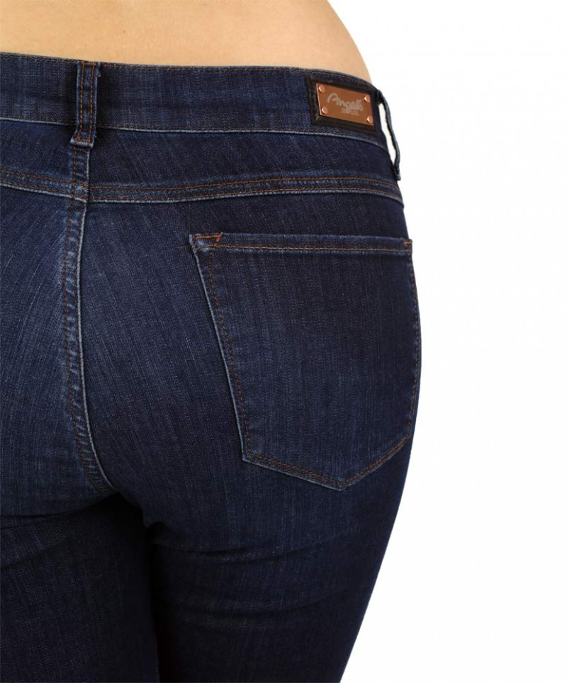 Angels Skinny Jeans - Power Stretch - Stone Used Buffi