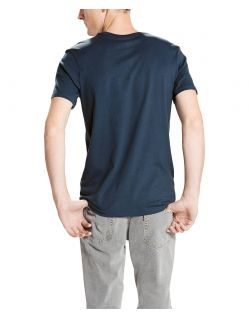 LEVI'S T-Shirt 2 Pack Crew Tee - Slim Fit - Dunkelblau - Hinten
