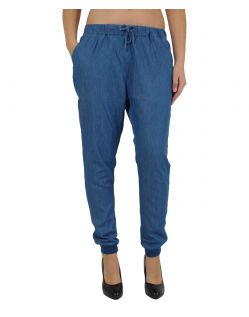 Vero Moda Hose - CHAMBRAY - Medium Blue Denim