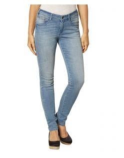 Paddock's Lucy - Enge Jeans aus hellem Vintage Denim