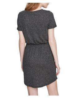 VERO MODA LUA - Kurzärmeliges Kleid - Schwarz - Hinten