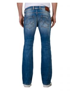 LTB Roden - Bootcut Jeans in heller Waschung - Hinten
