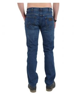 WRANGLER ARIZONA Stretch Jeans - Burnt Blue - Hinten
