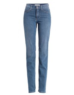 Mac Angela Jeans - Straight Leg - Stone