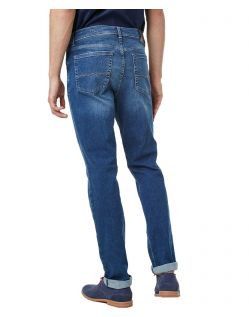 Pioneer Jeans Rando - Regular Fit - Megaflex Stretch - Stone Used - hinten