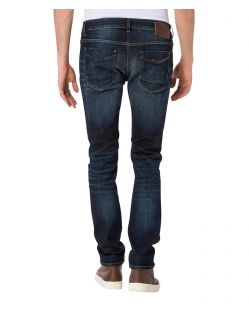CROSS Jeans Johnny - Slim Fit - Deep Blue Wash - Hinten