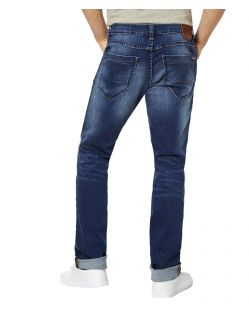 Paddock's Ben - Tapered fit Jeans in Vintage Waschung - hinten
