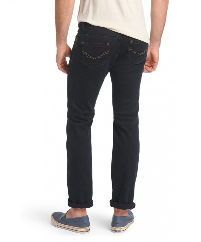 HIS Randy Jeans- Straight Leg - Depp Blue Black
