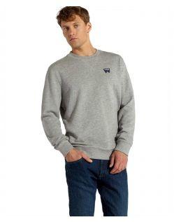 Wrangler - Grauer Pullover im normaler Form
